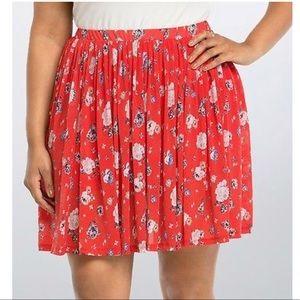 Torrid double layer skirt